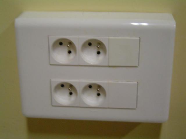 Electricité courant fort