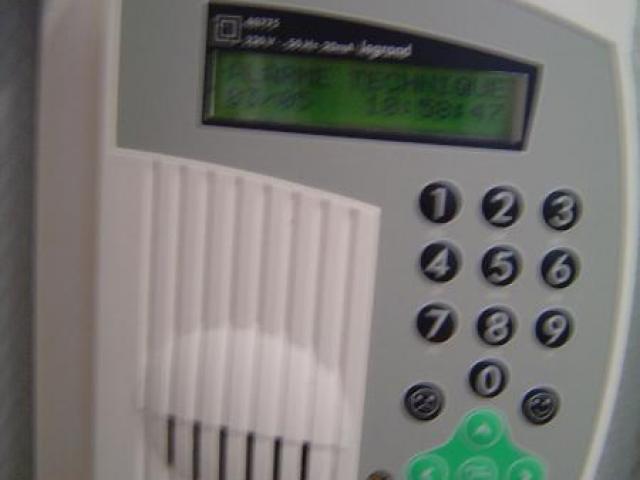 Alarme technique
