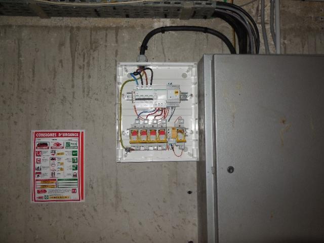 Travaux électriques basse tension