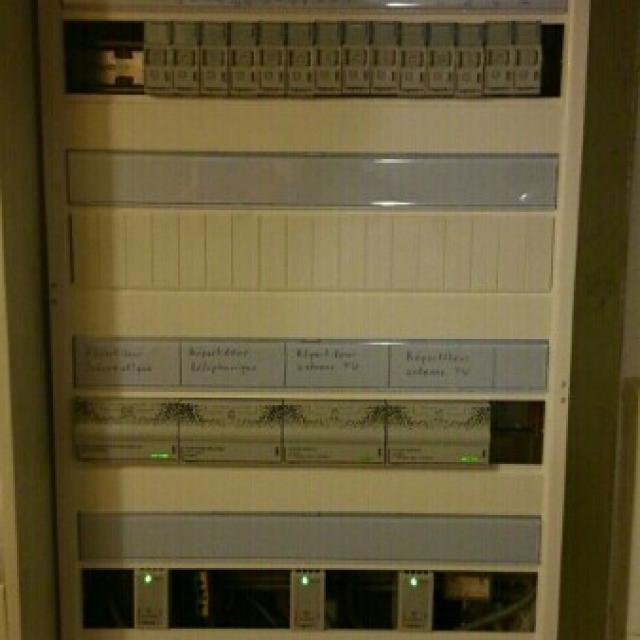 Travaux d'électricité de très basse tension sur la commune de Brimont